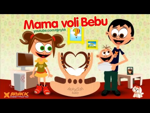 Mama voli bebu (Mommy Loves By) - Kindergarten - Lully Songs Little ...