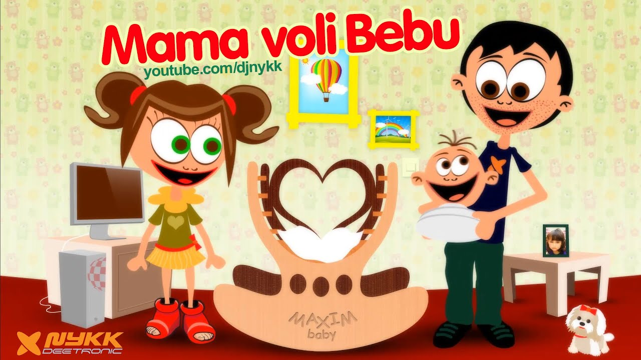 pjesmice za rođendan mami Mama Voli Bebu (Mommy Loves Baby) Lullaby Song for Small Children  pjesmice za rođendan mami