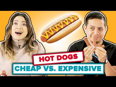 Cheap vs Expensive: Hot Dogs