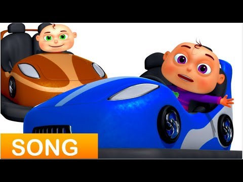 Thumbnail: Five Little Babies Driving Toy Cars (Single) | Videogyan 3D Rhymes | Zool Babies Fun Songs