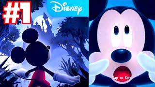 Castle of Illusion Starring Mickey Mouse - Walkthrough Part 1 (iPhone Gameplay)