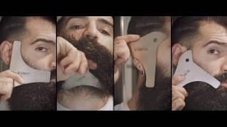 Die Bartschablone - Rasur-Ergebnisse wie vom Barbier!