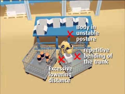 Manual Handling Risk Assessment - Case Study 8 - Repetitive Packing Operation