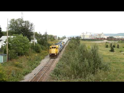RS departing Port Alfred for Arvida