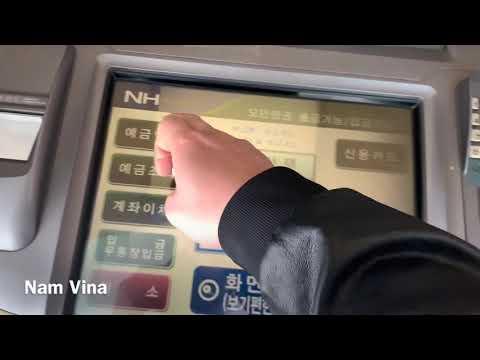 Tập 2. Cuộc Sống Hàn Quốc | Hướng Dẫn Cách Nạp Tiền, Rút Tiền, Chuyển Tiền Trên Cây ATM