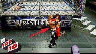 Top 10 Craziest Road To Wrestlemania ENDINGS In WWE Games
