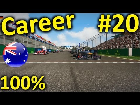 F1 2013 Australia 100% Career Mode Part 20: Melbourne (S2)