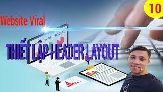 Website bán hàng-Bài 10-Thiết lập Header Layout trên Flatsome