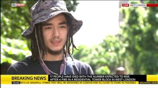 http://tvnewsroom.org -- Sky News' Colin Brazier interviews eyewitn...
