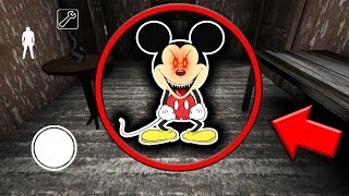 SCARY MICKEY MOUSE in Granny Horror Game (EVIL DISNEY in Granny Mobile Horror Game)