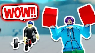 BECOMING THE BIGGEST AND STRONGEST BOXER EVER!! | Roblox Boxing Simulator 2 for kids
