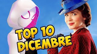 TOP 10 FILM AL CINEMA | Dicembre 2018