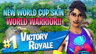 New World Warrior Skin!! 10 Elims!! - Fortnite: Battle Royale Gameplay