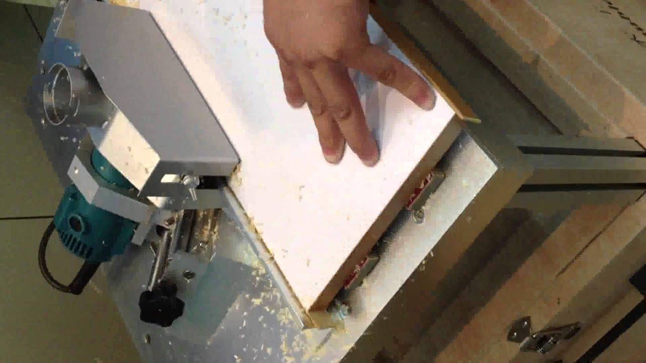 Станок для снятия свесов кромки своими руками