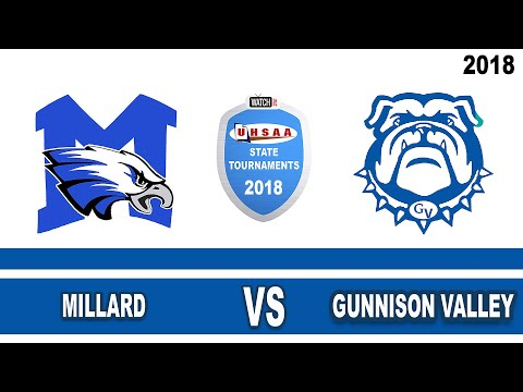 2A Volleyball: Millard vs Gunnison Valley High School UHSAA 2018 Utah State Tournament 3rd Place