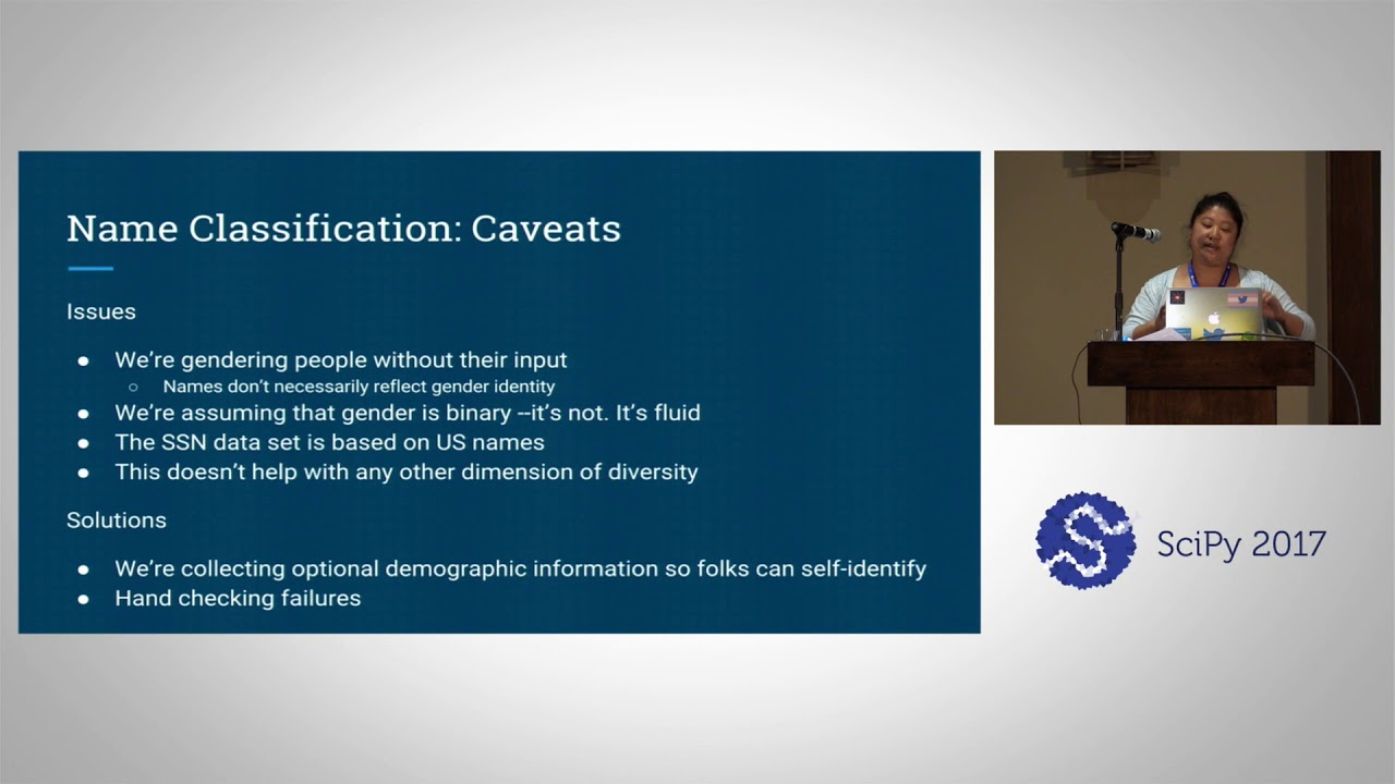 Image from Diversity & Inclusion at the SciPy Conference
