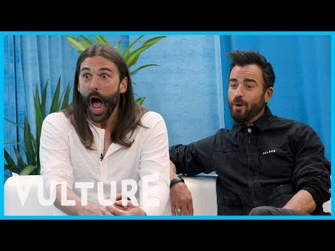 Watch Jonathan Van Ness Fangirl Over Justin Theroux in Charlie's Angels