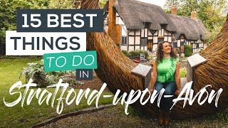 15 Best Things to do in Stratford-upon-Avon [Shakespeare's Birthplace]