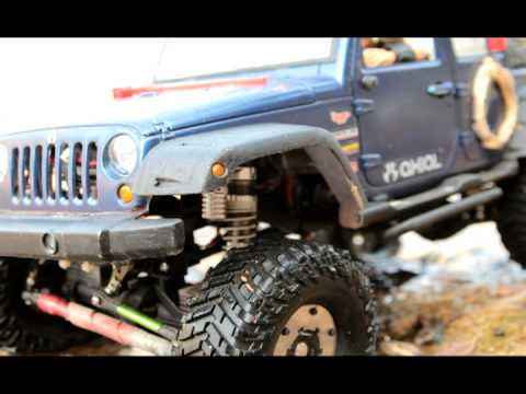 Realistic RC experience - 2011/10/23 Korea meeting Scale Art Gallery Extreme Trucks