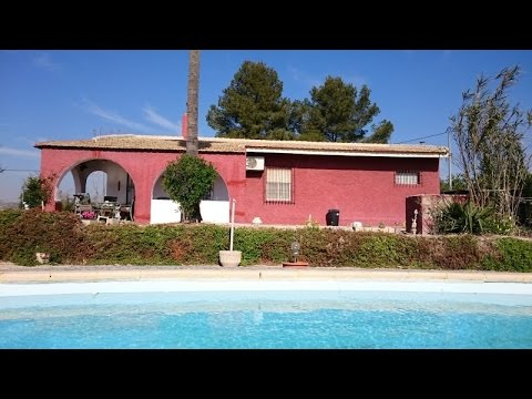 Costa Calida Murcia Finca for sale in Librilla detached Villa with pool Murcia Coast and Country