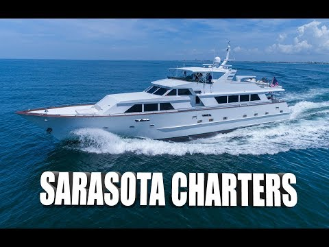 "100FT ""Center Ring"" - Sarasota Charters - Luxury Yacht Charters - Sarasota, FL [4K]"