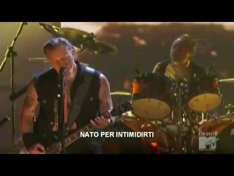 Metallica  THE DAY THAT NEVER COMES SUB ITA  MTV  2008