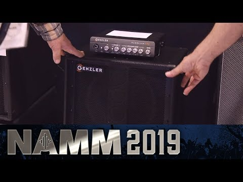 New Bass Amps from Genzler! - NAMM 2019