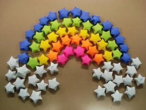 paper stars / origami stars tutorial
