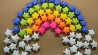 """Origami Stars Tutorial"" This video will show you how to make origa..."