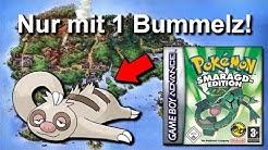 Kann man Pokemon Smaragd mit NUR einem BUMMELZ durchspielen? (+ Keine Items in Kämpfen)