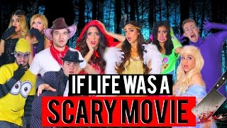 If Life was A Scary Movie! Halloween 2015 | Niki and Gabi