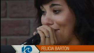 """This live music friday on the hampton roads show featured felicia barton in studio.her new album, """"lost words"""" is available itunes."""