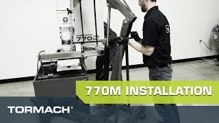 Tormach 770M Full Machine Installation & Set-Up