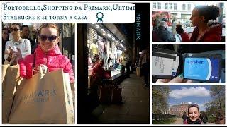 Svaligio Primark e torno a casa||Ultimo Vlog #Lond