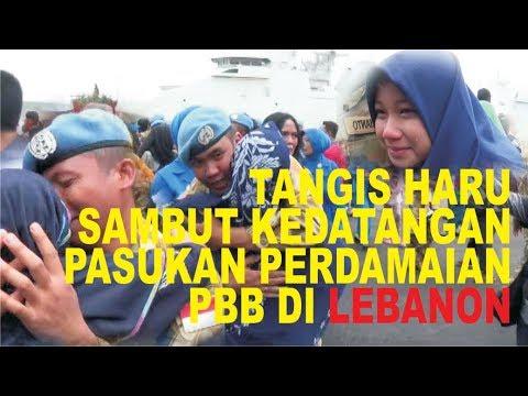 TANGIS HARU KELUARGA TNI , SAMBUT KEDATANGAN PASUKAN PERDAMAIAN DARI LEBANON Mp3