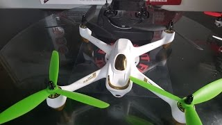 Hubsan H501S + 3 Bladed Props!