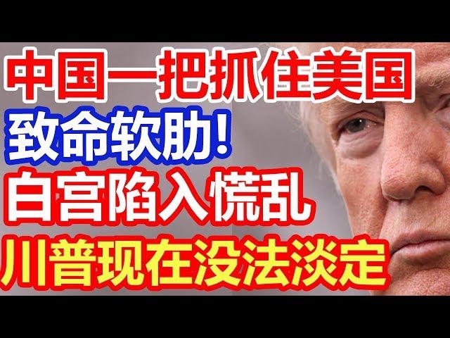中国抓住美国致命软肋,白宫陷入慌乱,特朗普焦头烂额
