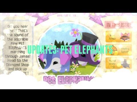 UPDATES: Pet Elephants - Animal Jam
