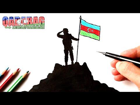 Azərbaycan əsgəri necə çəkilir | Qarabağ Azərbaycandır!