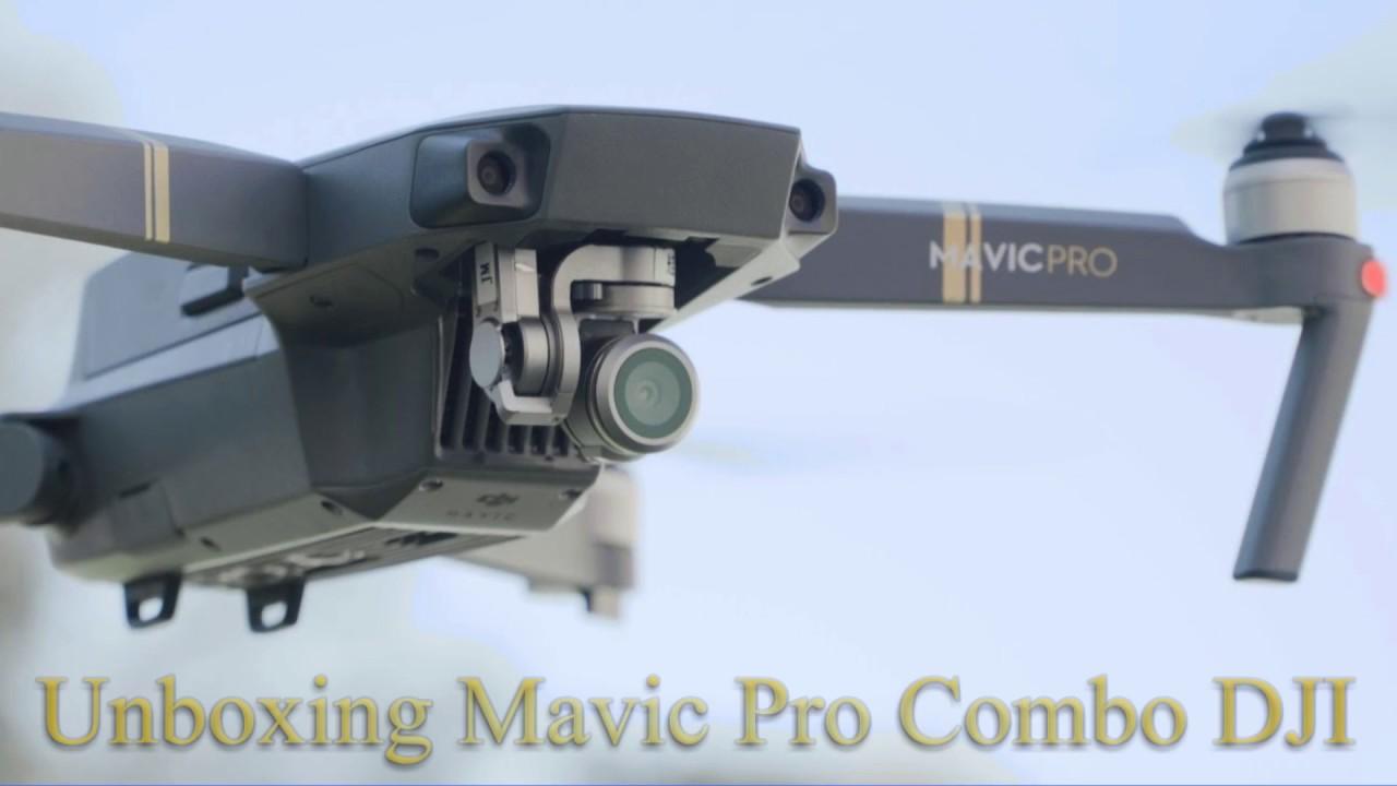 DJI MAVIC PRO Fly More Combo unboxing - ITA DRONE - YouTube