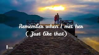 Mr P ft Mohombi-Just like that Lyrics video