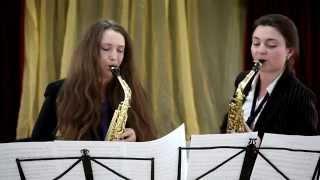 �������� ���� Вальс вдвоем - дуэт саксофонов - студия Глория ������