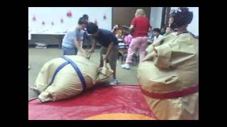 Sumo Suit Wrestling Party @ Helen Hall Library, League City, TX