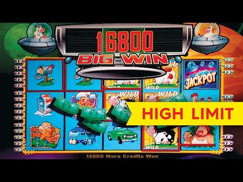 Invaders From The Planet Moolah Slot - HIGH LIMIT $1000 Session - LONGPLAY!