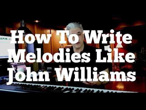 How To Write Melodies Like John Williams - Continuity of Line