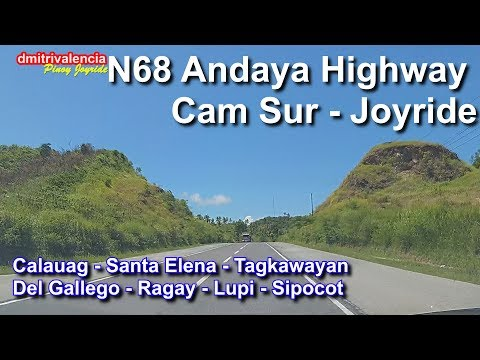 Pinoy Joyride - N68 Andaya Highway (Quezon-CamSur) Joyride