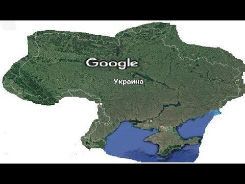 Google карты. Крым - это Украина В Госдуре бесятся...