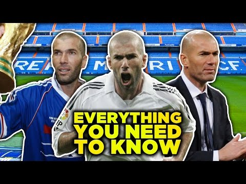 Zinedine Zidane | Everything You Need To Know