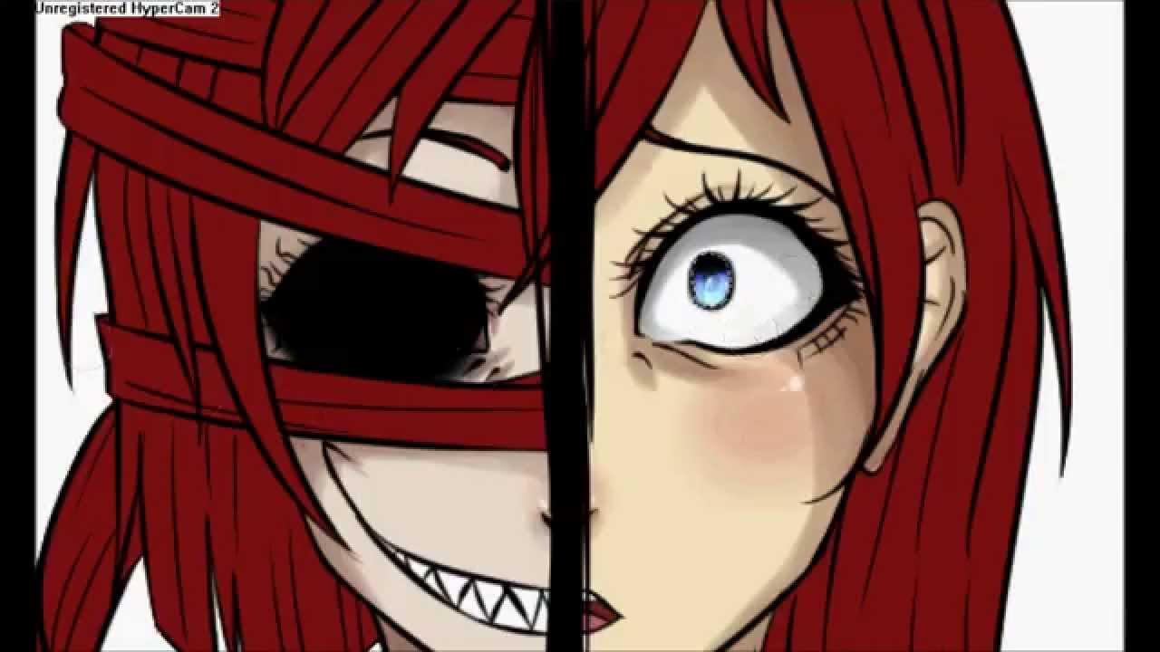 Speedpaint: Eyeless Heather ((My Creepypasta OC