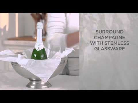 how-to-make-a-champagne-gift-basket-for-a-wedding-gift-|-pottery-barn